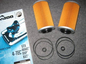 seadoo oil filter o-rings