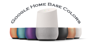 google home base colors voice commands