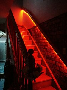 Automatic stair lights led philips hue