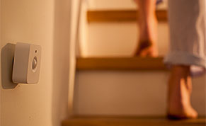 Philips hue motion sensor stairs