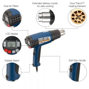 steinel applications heat gun lcd