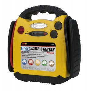 Performance W1665 900 Amp Jump Starter Inflator Portable Power Unit