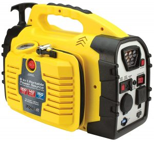 Rally Portable 8 in 1 Power Source and Jumpstarter Hand Generator