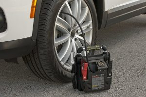 stanley portable jump starter air compressor
