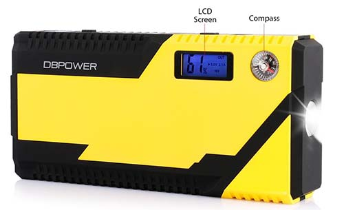 dbpower 500a best portable jump starter 12000mah