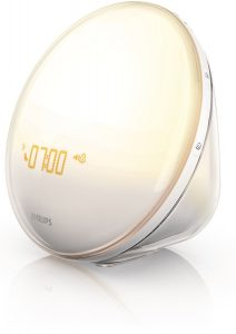 #1 Best Wake Up Light Colored Sunrise Simulation HF3520