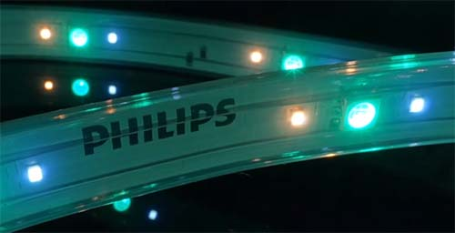 3 leds philips hue light strip plus