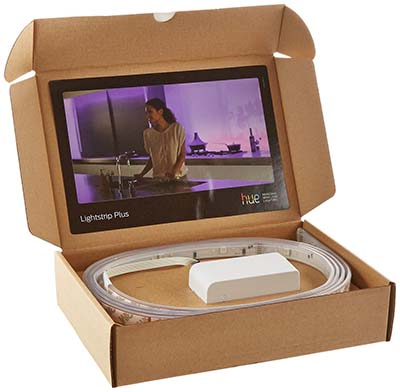 philips hue light strip box