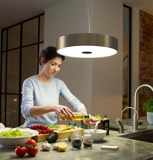 kitchen flair philips hue suspension pendant lamp