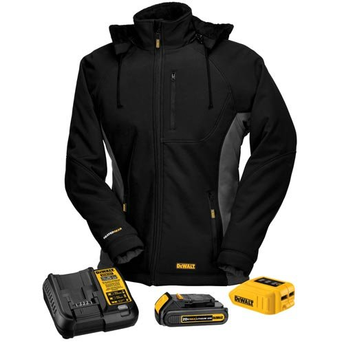 dewalt womens heated jacket