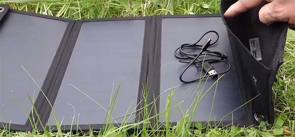 solar USB phone charger review perfect solar flexible panels for camping