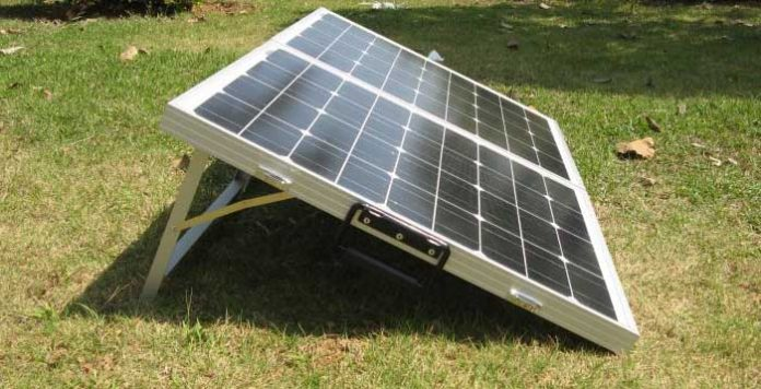 folding solar panels for camping, boats and rv