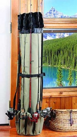Gifts for Fisherman who has Everything rod holder organiser