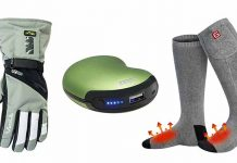 electric battery heated socks and gloves for arthritis sufferers