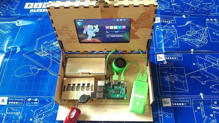 Build A Raspberry Pi Computer Kit For Kids Full Piper Minecraft Pc Review Not Sealed