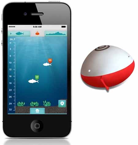 Ibobber vs deeper castable fish finder review wifi or for Castable fish finder