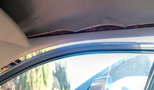 auto headliner sag fix 3m glue