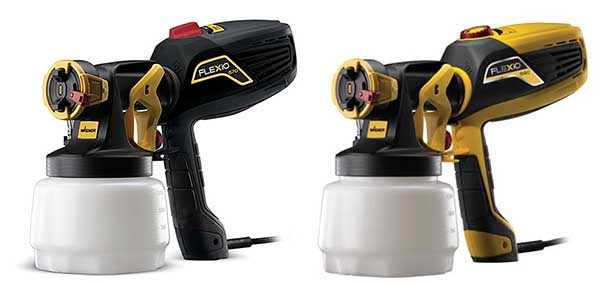 High Power Electric Spray Gun for thick paint Wagner 590