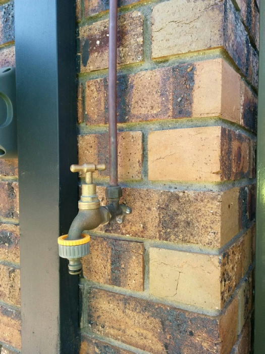how to Install Outside Water tap