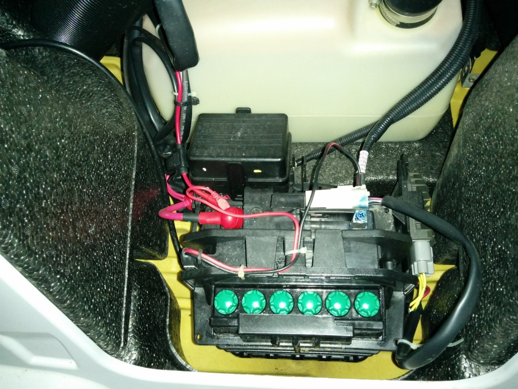 Replace Battery sea-doo procedure