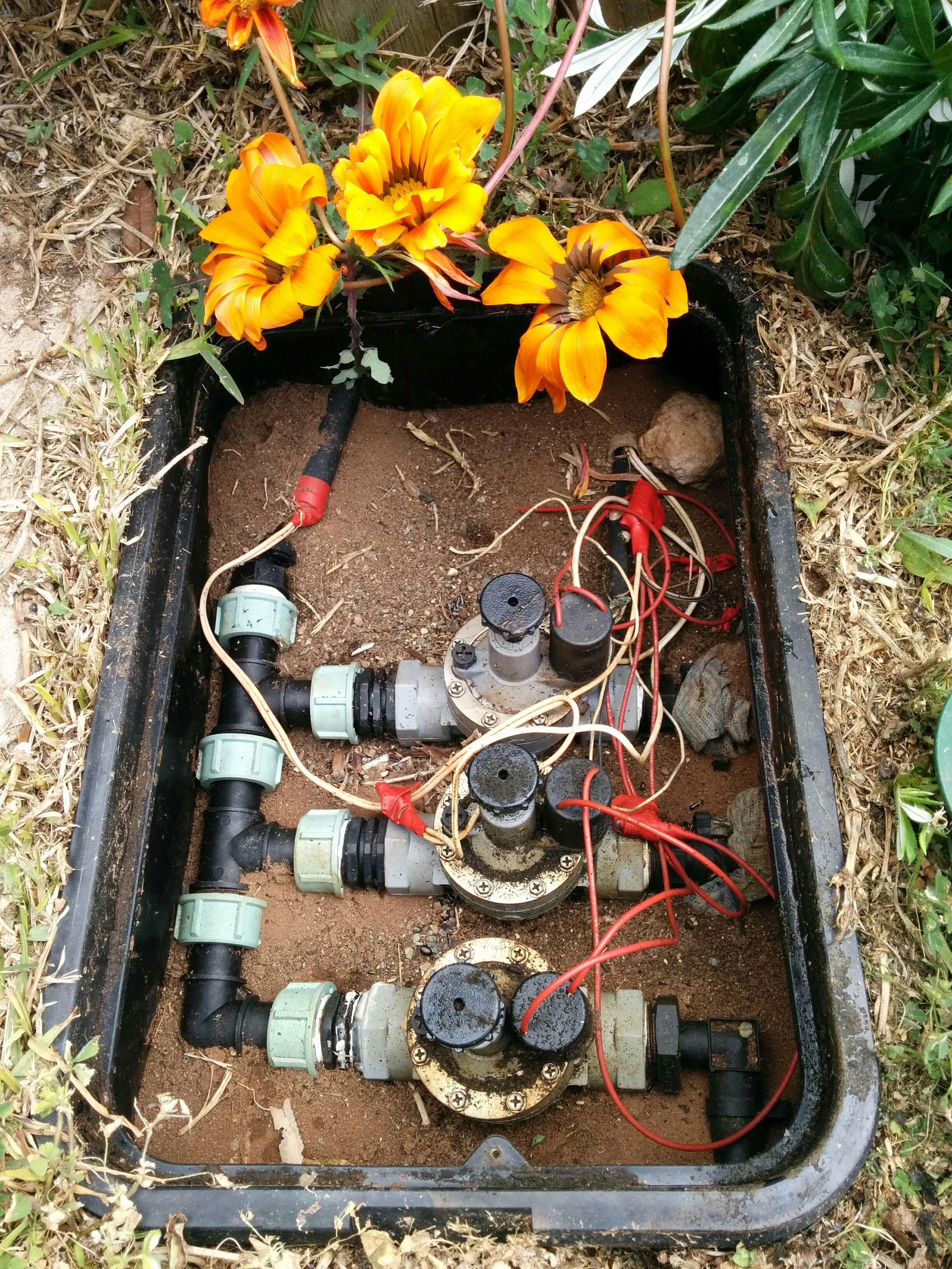 Automatic Garden Sprinkler Using X-Core Controller and