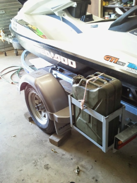 How To Build A Jerry Can Holder For Your Boat Trailer