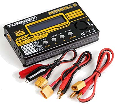 Turnigy Accucel-6 80W 10A Balancer Charger LiPo LiFe NiMh NiCd JST-XH