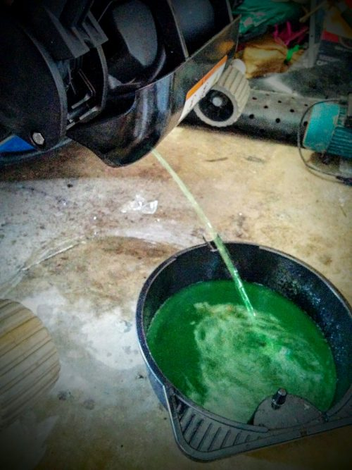 Sea-doo coolant flush drain
