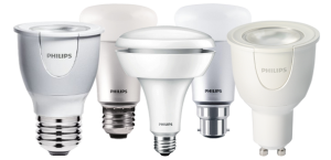Philips hue range lighting A19, BR30, GU10, MR16