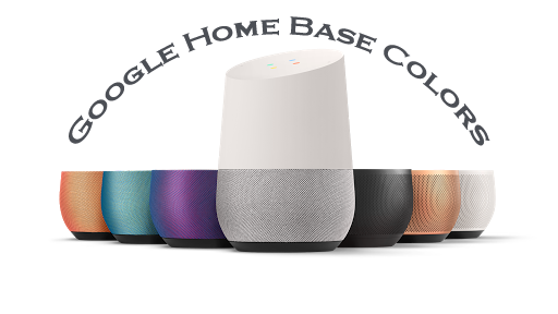 google home base colors