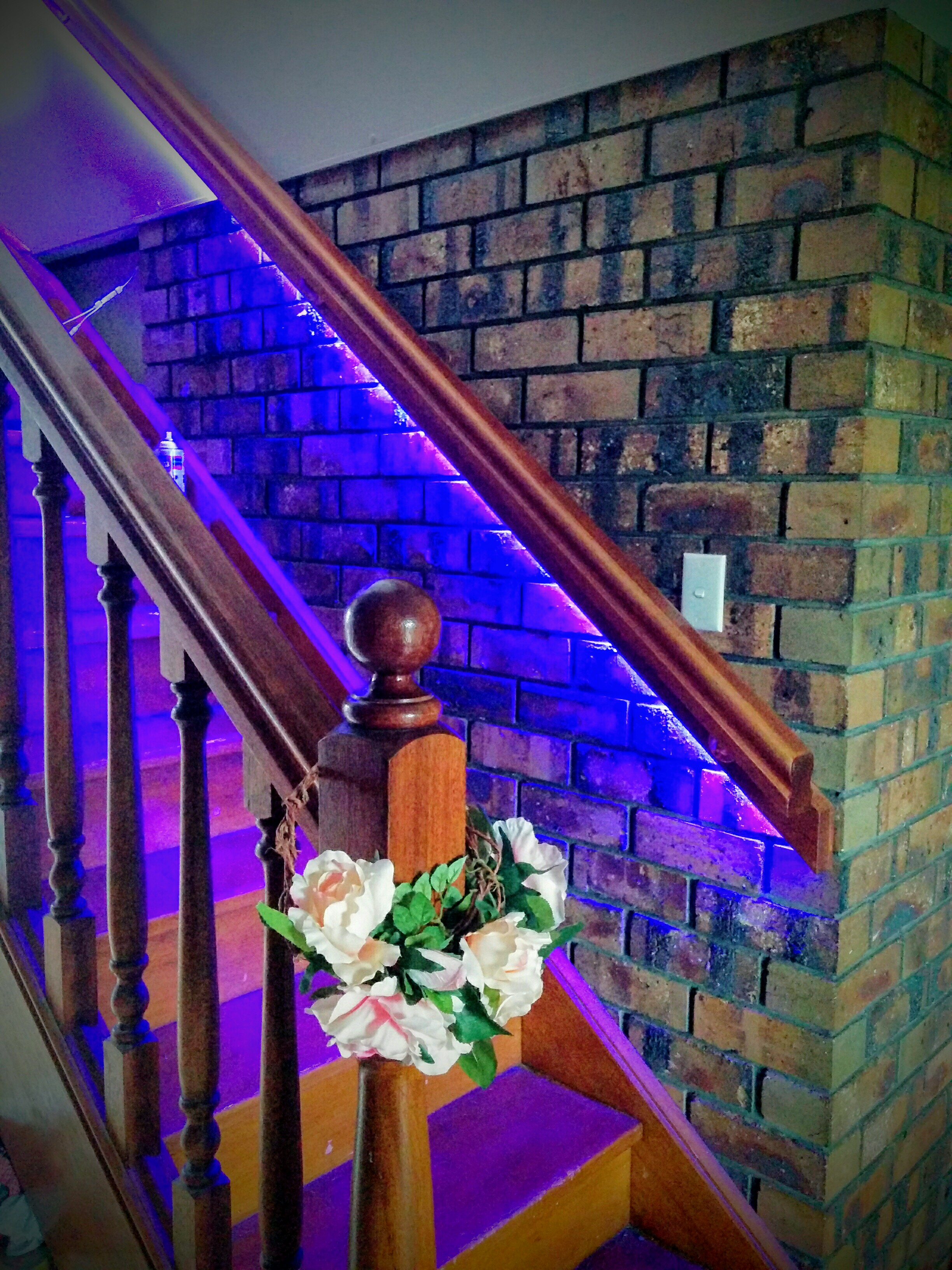 philips hue stair lighting home automation