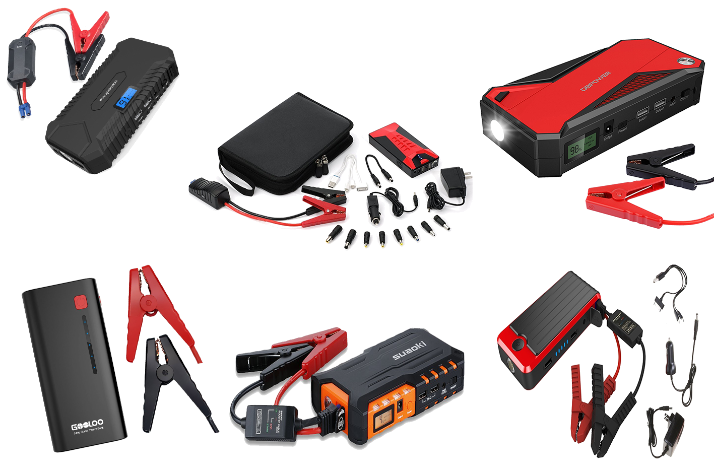 Top 8 Lithium Ion Jump Starters Reviewed Best Portable Boost For