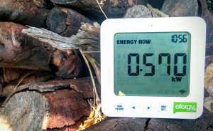 Power Consumption Meter efergy e2 classic outside