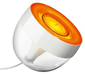 Philips Hue Iris orange mood light