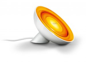 Philips Hue Bloom orange LED accent lamp