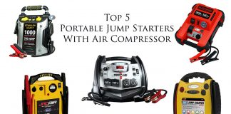 Best jump starter with air compressor top 5