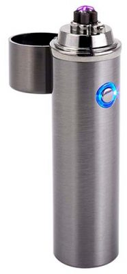 saberlight arc lighter silver