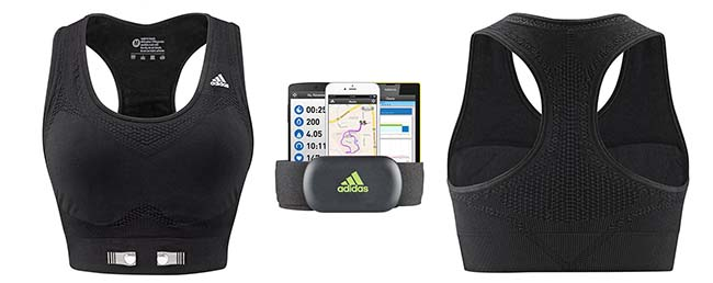 3eb39c03c1f11 Best Heart Rate Monitor Sports Bra that s actually Smart and ...