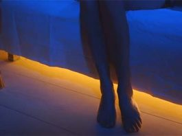 under bed motion sensor light strip