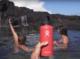hydro flask keeping cool in extreme heat
