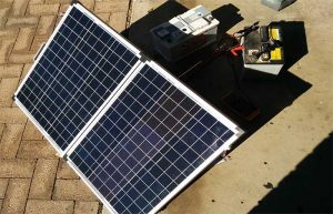 Portable solar panels for Caravans and motorhomes 120w