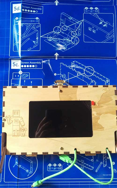 build your own computer kit Piper screen assembly