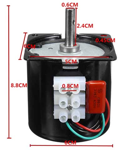 projector screen motor repair synchronous motor