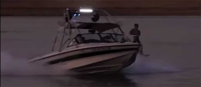 wake-board boat LED light bar