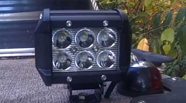 Marine LED Light Bars 6 Cree