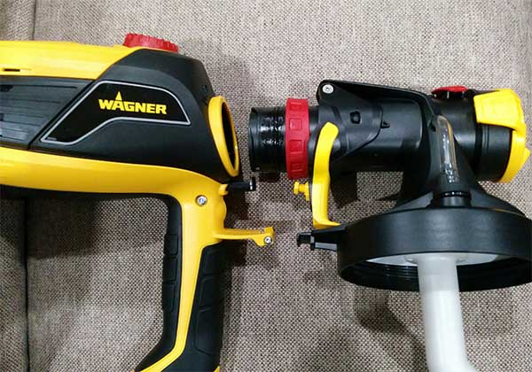High Power Electric Spray Gun For Polyurethane Wagner 590 Flexio Review Not Sealed