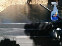 spa hot tub cover cleaning and care with 303 aerospace protectant
