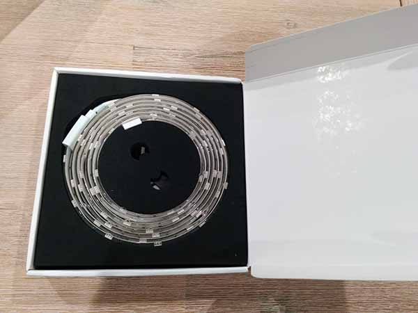 internal packaging of Koogeek led smart light strip