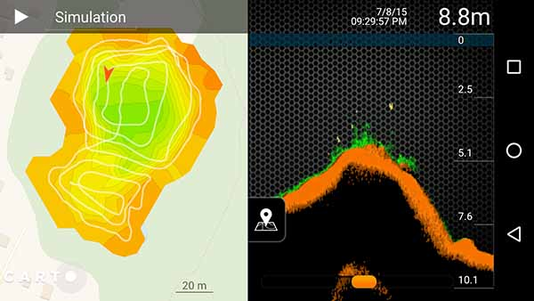 deeper sonar app online maps and saving information