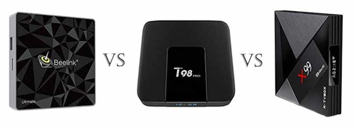 android tv box with optical out beelink t98 x99